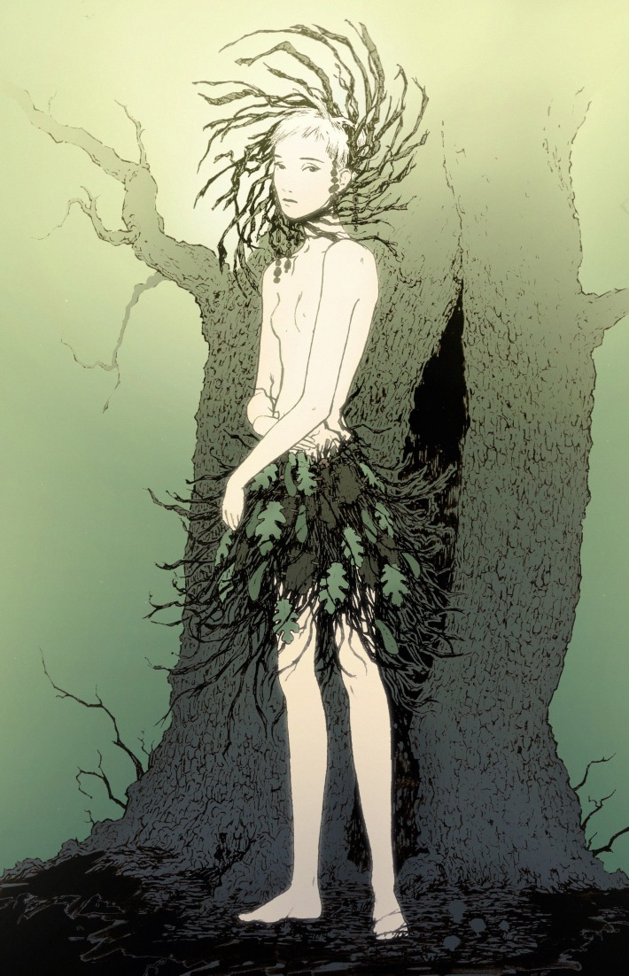 forest nymph color