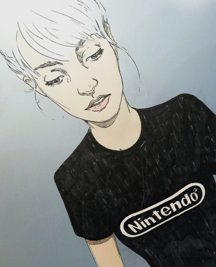 Nintendo Shirt color